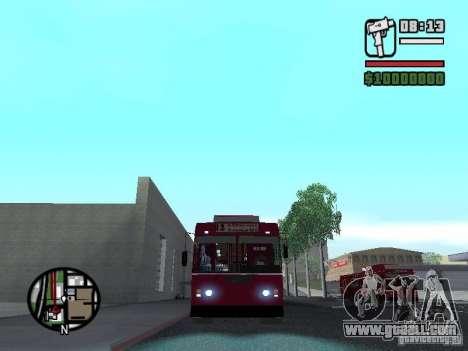 ZIU 682GM1 for GTA San Andreas left view