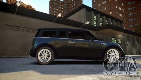 Mini Cooper Clubman for GTA 4 right view