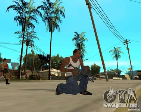 Weapons of STALKERa for GTA San Andreas forth screenshot