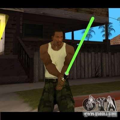 Lightsaber from STAR WARS for GTA San Andreas