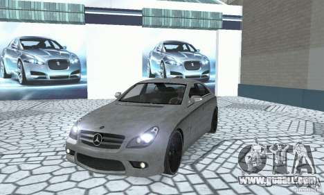 Mercedes-Benz CLS 63 AMG for GTA San Andreas inner view