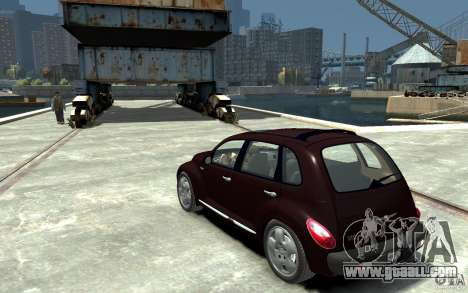 Chrysler PT Cruiser for GTA 4 back left view