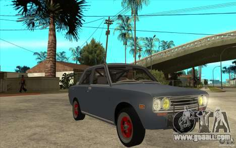Datsun 510 JDM Style for GTA San Andreas back view