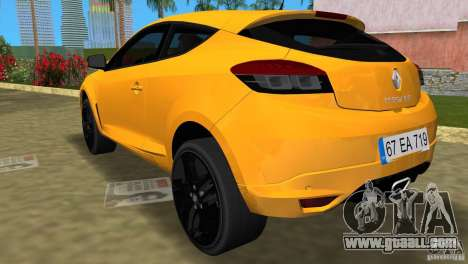 Renault Megane 3 Sport for GTA Vice City left view