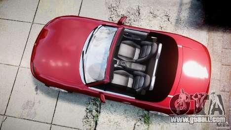 Mazda MX-5 Miata for GTA 4 right view