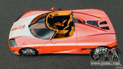 Koenigsegg CCX 2006 v1.0 [EPM][RIV] for GTA 4 right view