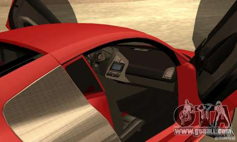 Audi R8 Custom for GTA San Andreas right view
