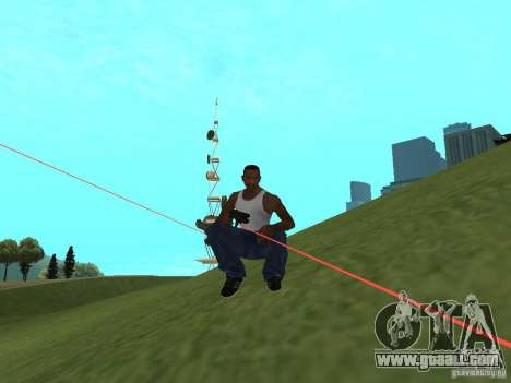 Laser Weapon Pack for GTA San Andreas third screenshot