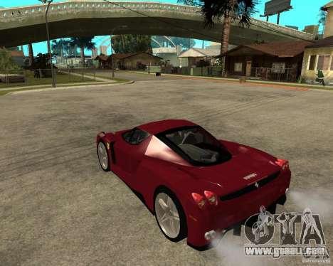 Ferrari ENZO 2003 v.2 final for GTA San Andreas left view