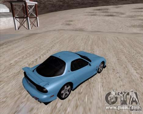 Mazda RX7 2002 FD3S SPIRIT-R (Type RS) for GTA San Andreas right view