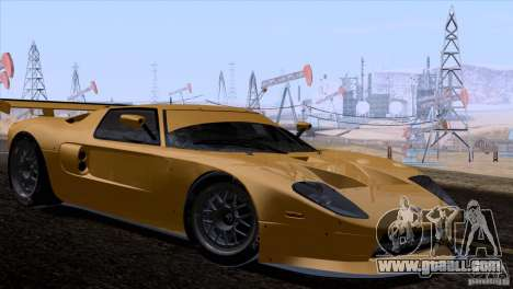 Ford GT Matech GT3 Series for GTA San Andreas