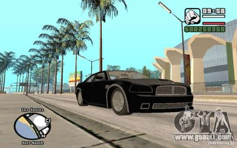Dodge Charger SRT8 for GTA San Andreas side view