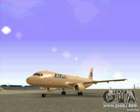 Airbus A-320 airline UTair for GTA San Andreas