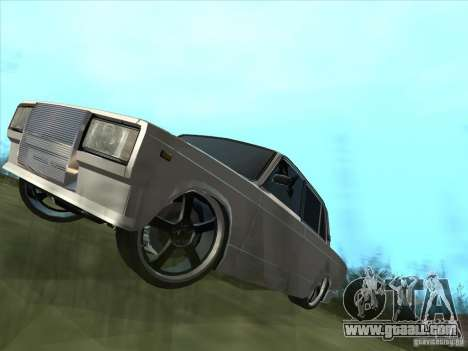 VAZ 2105 Light Tuning for GTA San Andreas right view