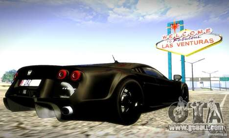 Noble M600 Final for GTA San Andreas side view