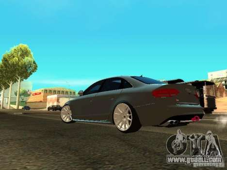 Audi S4 2010 for GTA San Andreas back left view