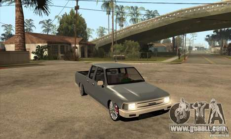 Toyota Hilux 1990 for GTA San Andreas back view