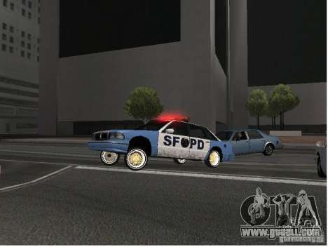 Deluxo Wheels Mod for GTA San Andreas second screenshot