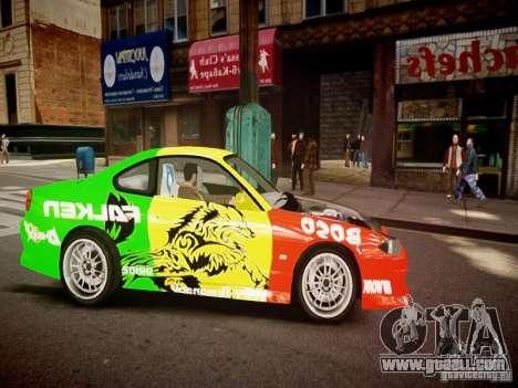 Nissan Silvia S15 Boso Drift Formula D M-Design for GTA 4 inner view