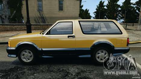 GMC Typhoon v1.1 for GTA 4 left view