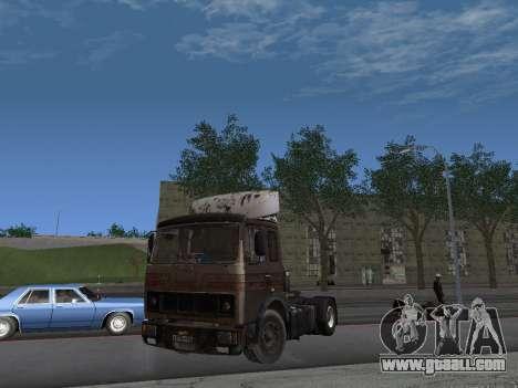 5551 MAZ Kolkhoz for GTA San Andreas left view