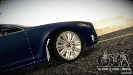 Jaguar XJ 2010 V1.0 for GTA San Andreas engine