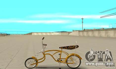 Lowrider for GTA San Andreas left view
