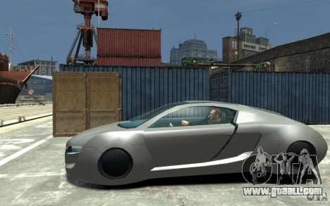 Audi RSQ Concept for GTA 4 left view