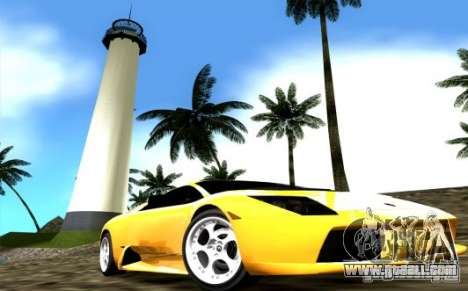2005 Lamborghini Murcielago for GTA Vice City right view