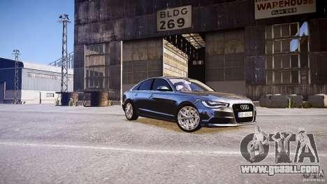 Audi A6 v1.0 for GTA 4 left view