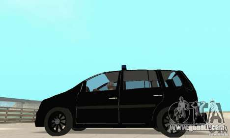 Volkswagen Touran 2006 Police for GTA San Andreas right view