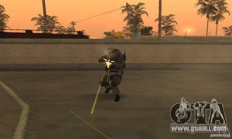 Soldiers from the CoD MW for GTA San Andreas third screenshot