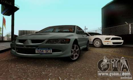 Mitsubishi Lancer Evolution 8 Tuneable for GTA San Andreas left view