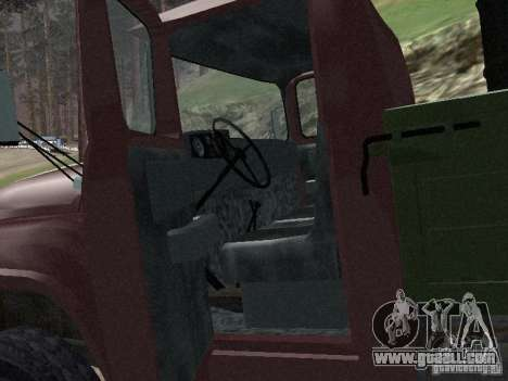 ZIL 130 Onboard for GTA San Andreas back view
