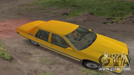 Buick Roadmaster 1994 for GTA Vice City back view