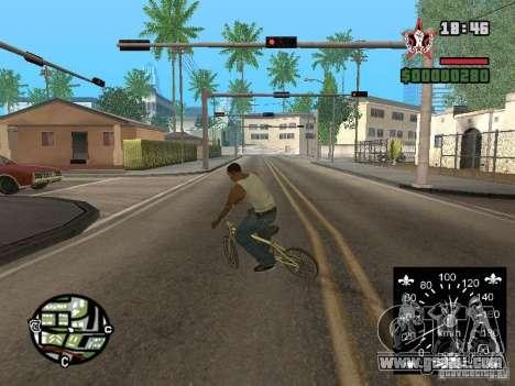 New speedometer for GTA San Andreas fifth screenshot