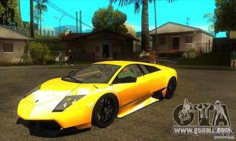 Lamborghini Murcielago LP 670 SV for GTA San Andreas