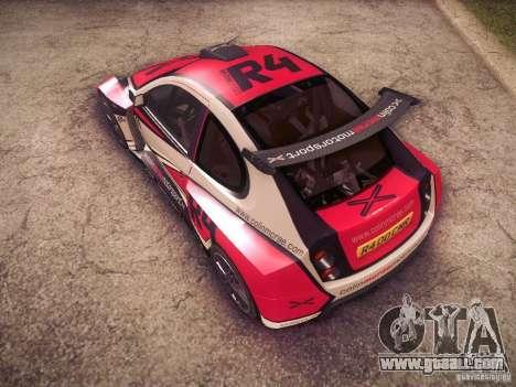Colin McRae R4 for GTA San Andreas upper view