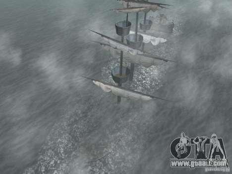 Pirate ship for GTA San Andreas forth screenshot