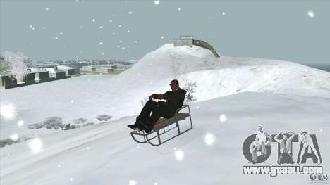 Sledge for GTA San Andreas
