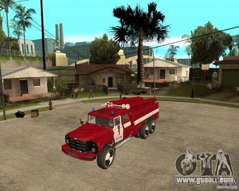 ZIL 133GÂ AC fire for GTA San Andreas