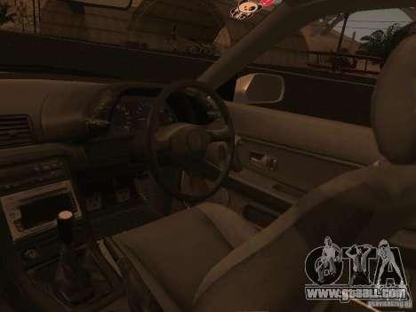 Nissan Skyline GTS R32 JDM for GTA San Andreas bottom view