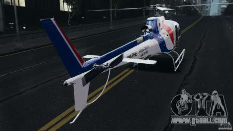Eurocopter AS350 Ecureuil (Squirrel) Malaysia for GTA 4 right view