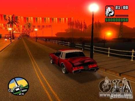 Timecyc BETA 2.0 for GTA San Andreas third screenshot