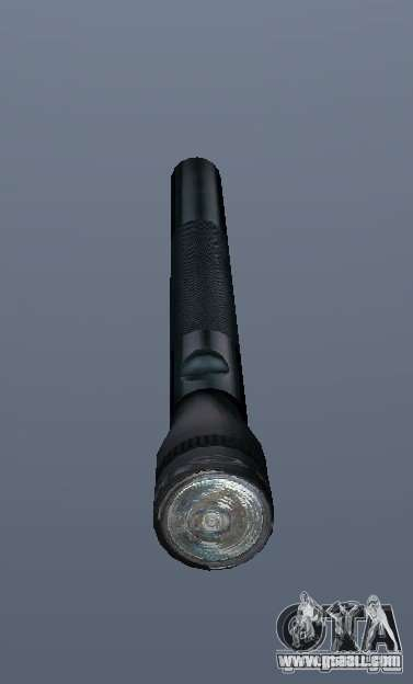 Maglite for GTA San Andreas