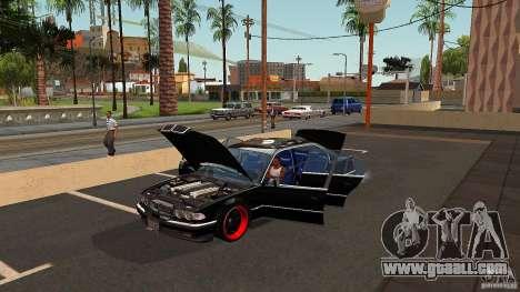 BMW E38 750LI for GTA San Andreas upper view