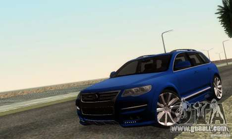 VolksWagen Touareg R50 JE Design Tuning for GTA San Andreas left view