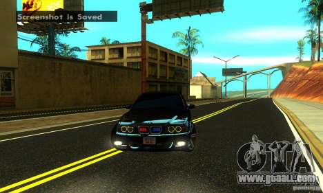 BMW M5 E39 2003 for GTA San Andreas back view
