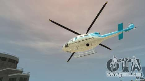NYPD Bell 412 EP for GTA 4 back view