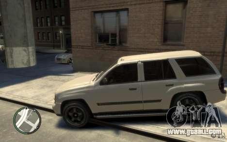 Chevrolet TrailBlazer v.1 for GTA 4 left view